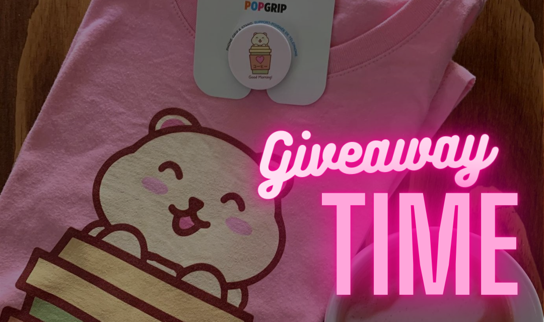 All The Coffees First Giveaway! Win a coffee t-shirt and a Popsocket designed by us!